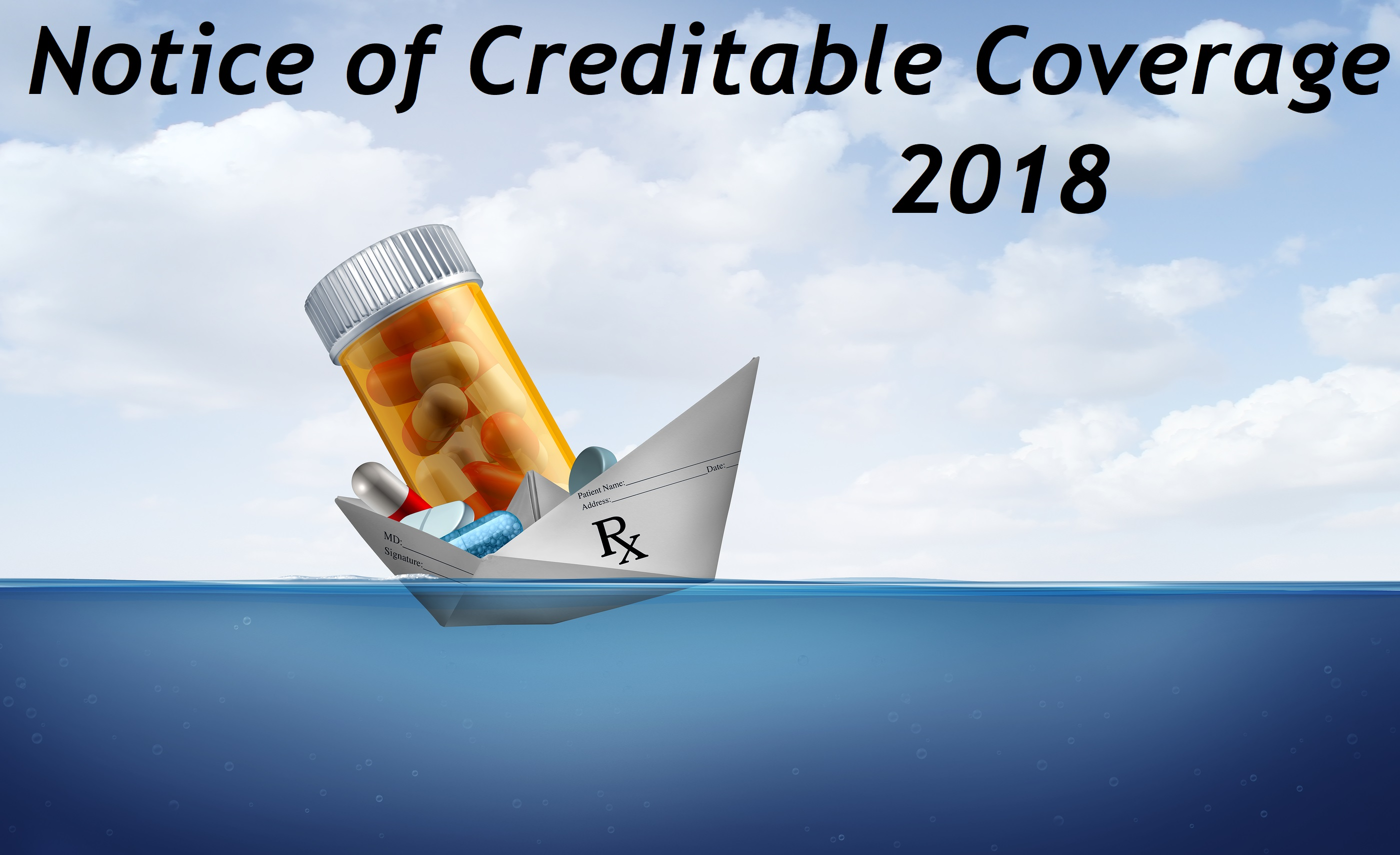 Notice of Creditable Coverage (NOCC) – October 15, 2018
