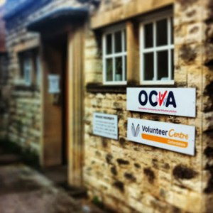 How the OCVA office looks from the street