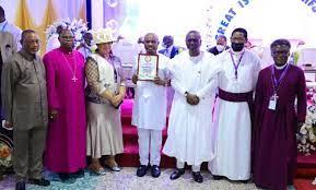 Church of Nigeria honours Wike, Akeredolu and others