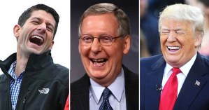 Ryan, McConnell and Trump