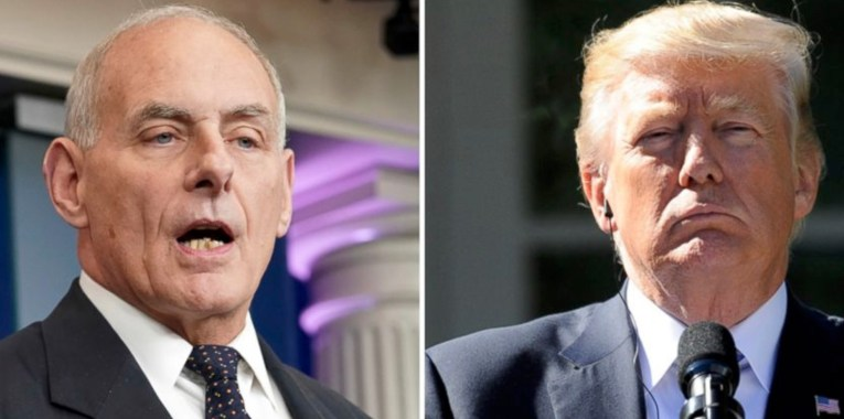 Kelly and Trump