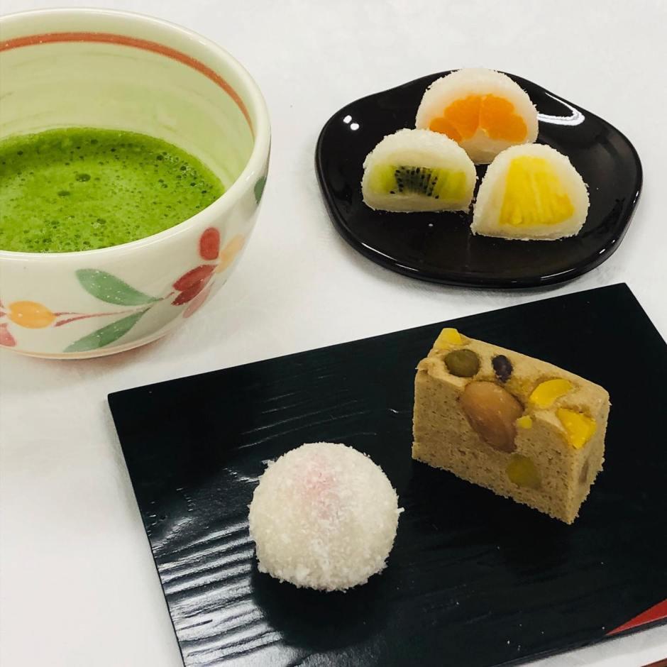 調理実習は「和菓子」