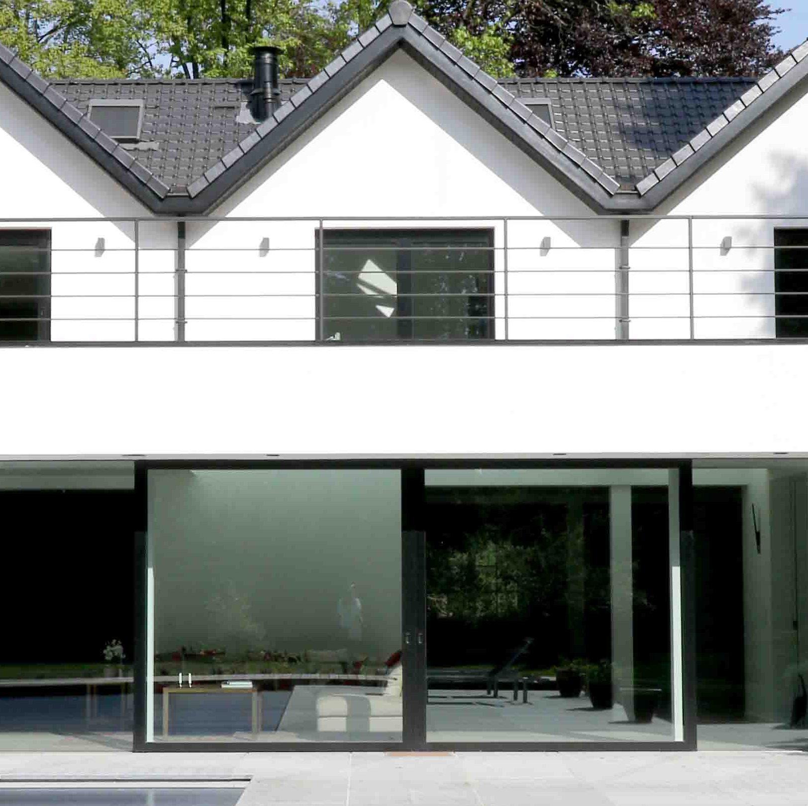 Architecte Uccle Rénovation Annexe Construction Permis d'urbanisme Ixelles Bruxelles Linkebeek Rhode saint genèse Architecture contemporain moderne