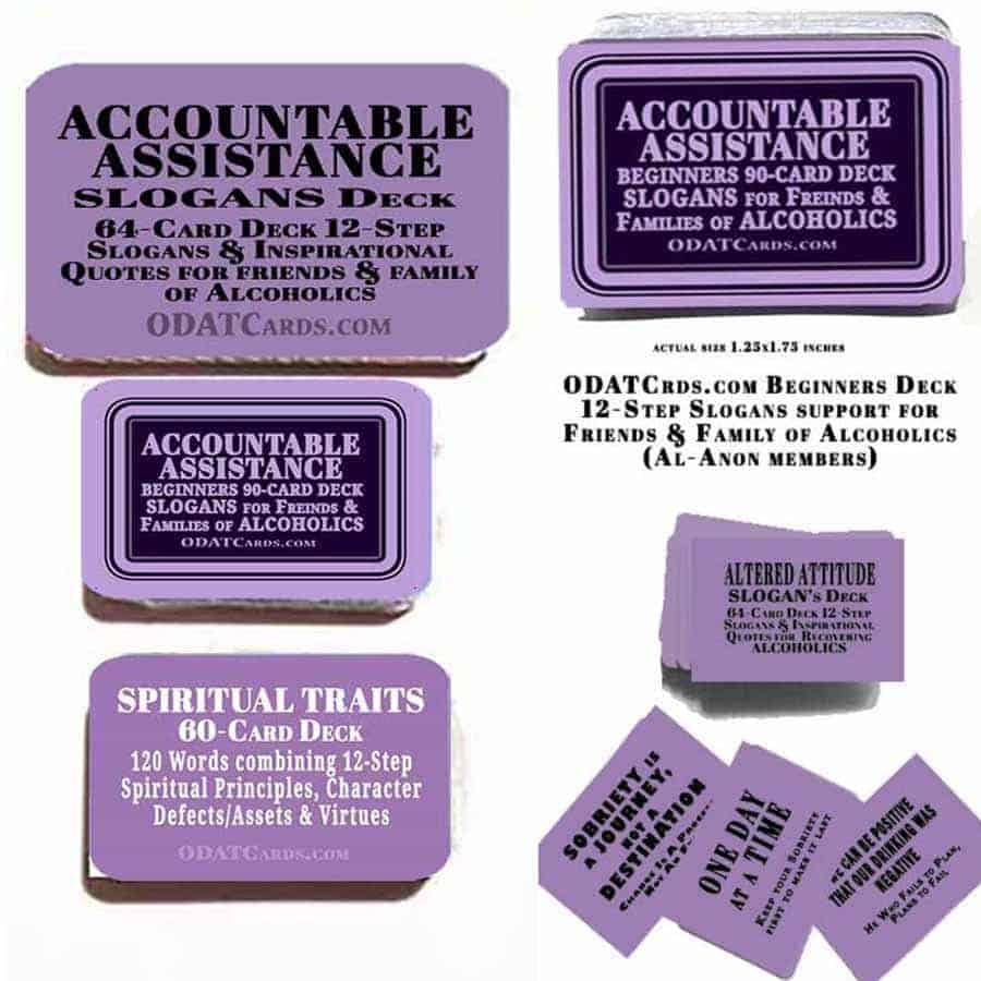 Accountable Assistance 3-Deck Special purple
