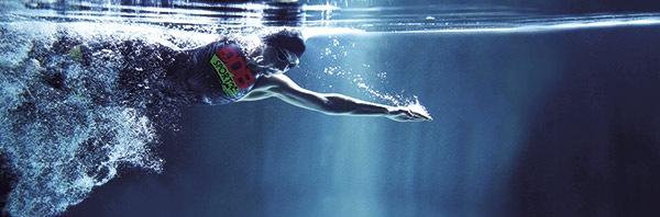 Lunettes de natation à la vue