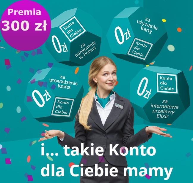Konto dla Ciebie z premią 300 zł od Credit Agricole