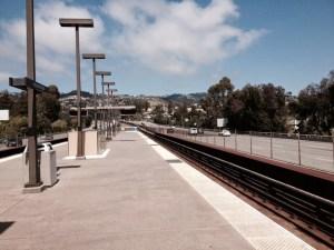 תחנת רכבת ריקה