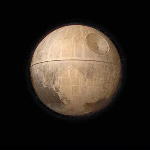 Pluto the Death Star