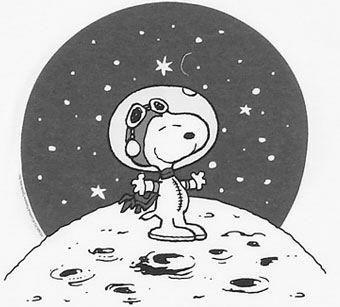 snoopy astronaut