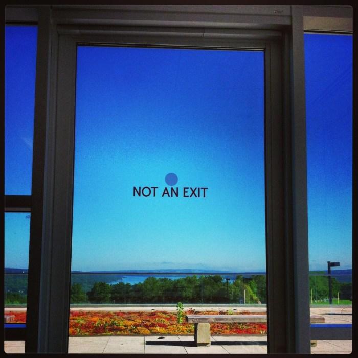 """""""Not An Exit"""" © Stacy Esch"""