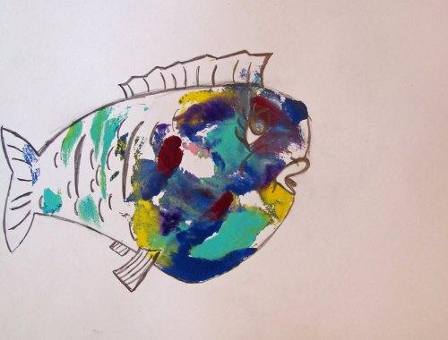 """Sad breastfish"" © Sally Deskins"