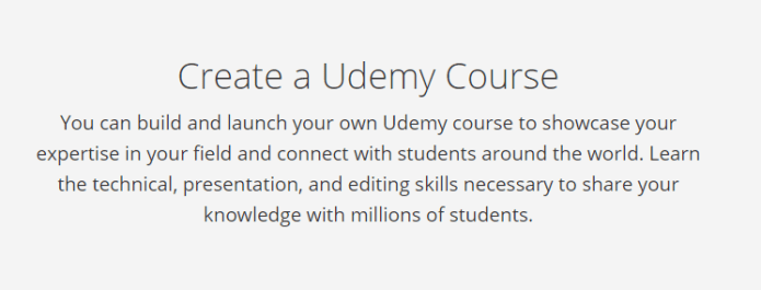 Create a Udemy Course to Make Money on the Side