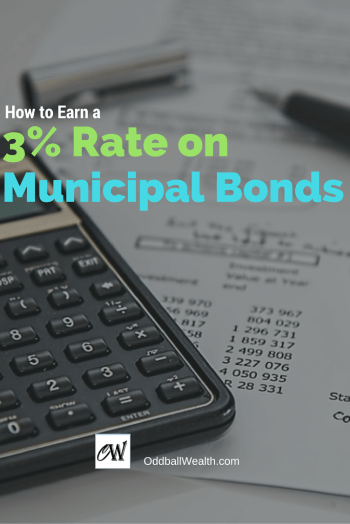 How to Earn a Three Percent Yield Rate on Municipal Bonds