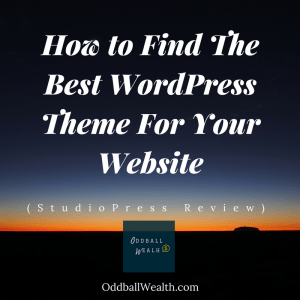 How to Find The Best WordPress Theme For Your Website (StudioPress Review)