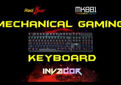ReadGear Invador MK881 Mechanical Gaming Keyboard