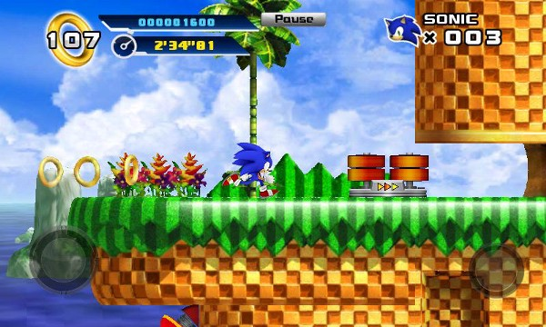 Screenshot from Sonic 4