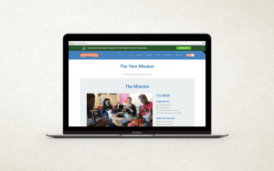 The Yarn Mission - Website Home Page