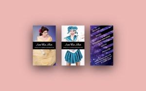 Rude Revue - Annie Mae Business Cards