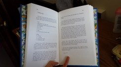 Inside my book (one of my favorite recipes).