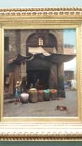 Bez's favorite: Pigment Seller in North Africa (Jean-Leon Gerome, 1891)