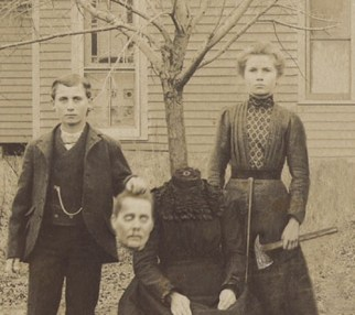 Headless victorian photo