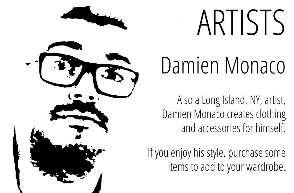 Artist Damien Monaco
