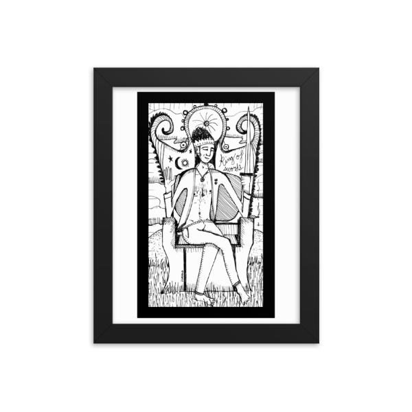 King of Swords – Cool, Intellectual/Irrationality
