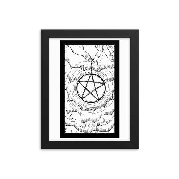 Ace of Pentacles – Opportunity/Lack of Planning