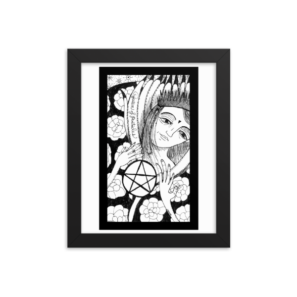 Queen of Pentacles – Nurturing, Provider/Work-Life Balance