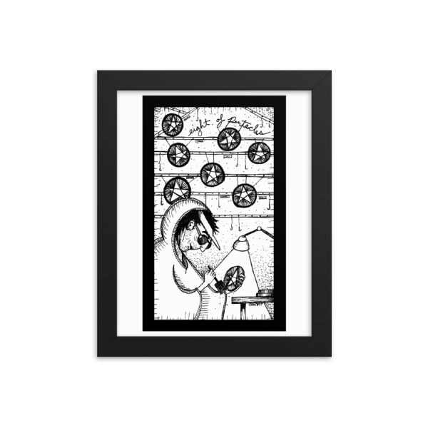 Eight of Pentacles – Mastery/Perfectionism