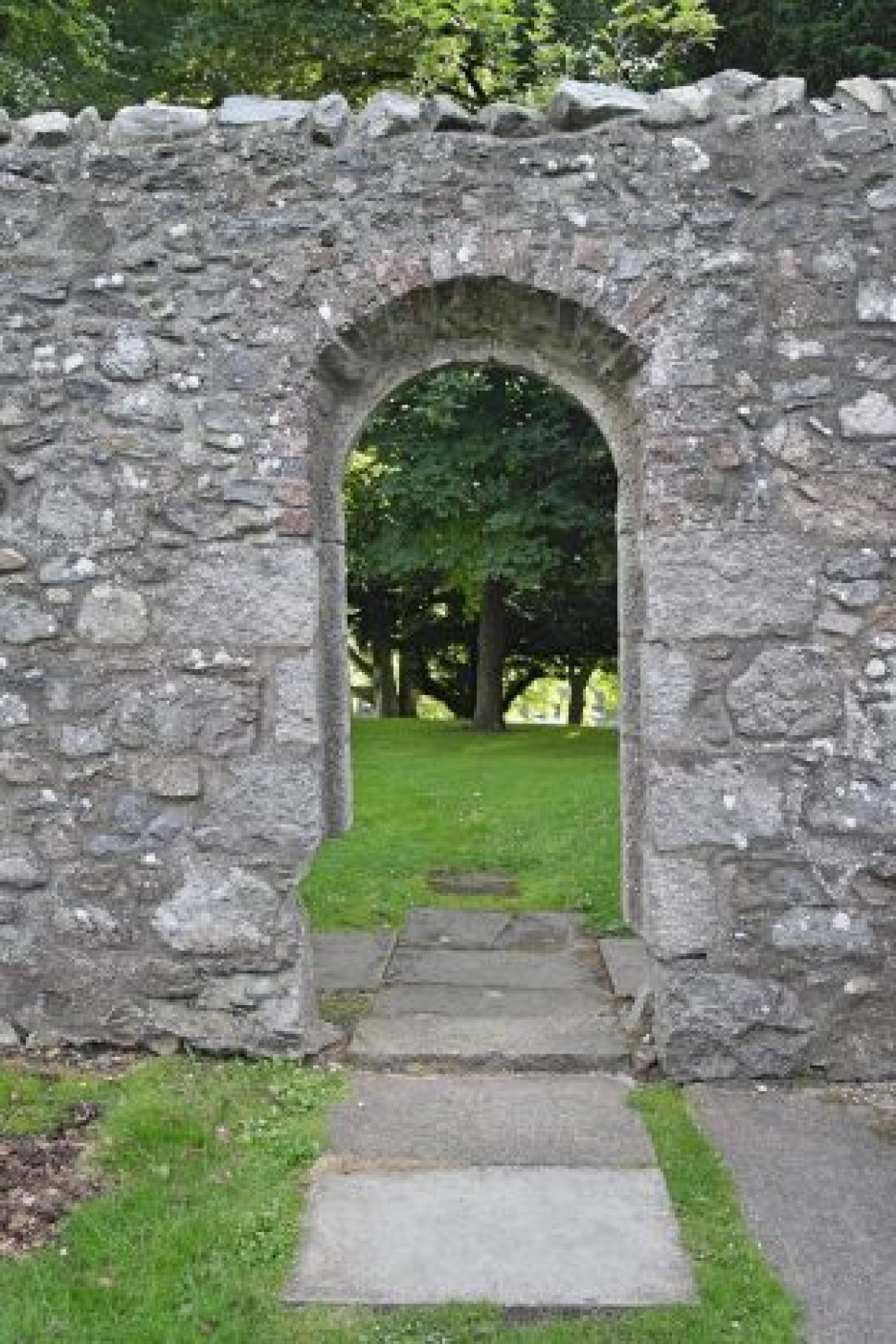 Maryculter House Archway