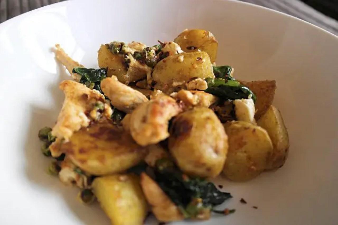 Chicken and Potato Hash Recipe