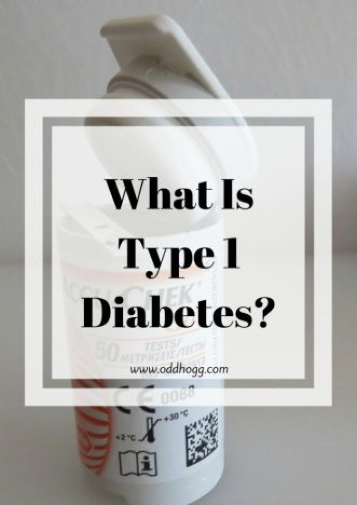 Diabetes - What Is Type 1? | This post is here to dispel the myths and tell the facts about type 1 diabetes http://oddhogg.com