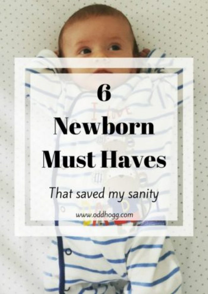 6 Newborn Must Haves | My top 6 must have items for a newborn.. There are so many products out there and it is easy to get caught up in buying things, but these are the items I found essential for surviving those early days with my baby http://oddhogg.com
