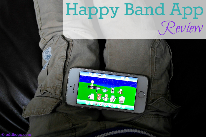 Happy Band - a game designed for children aged 1-5 to teach them about musical instruments and the sounds they make. Read our review here oddhogg.com
