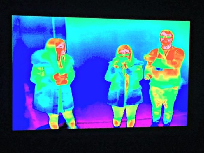 Landmark In The Winter Months | Thermal Cameras