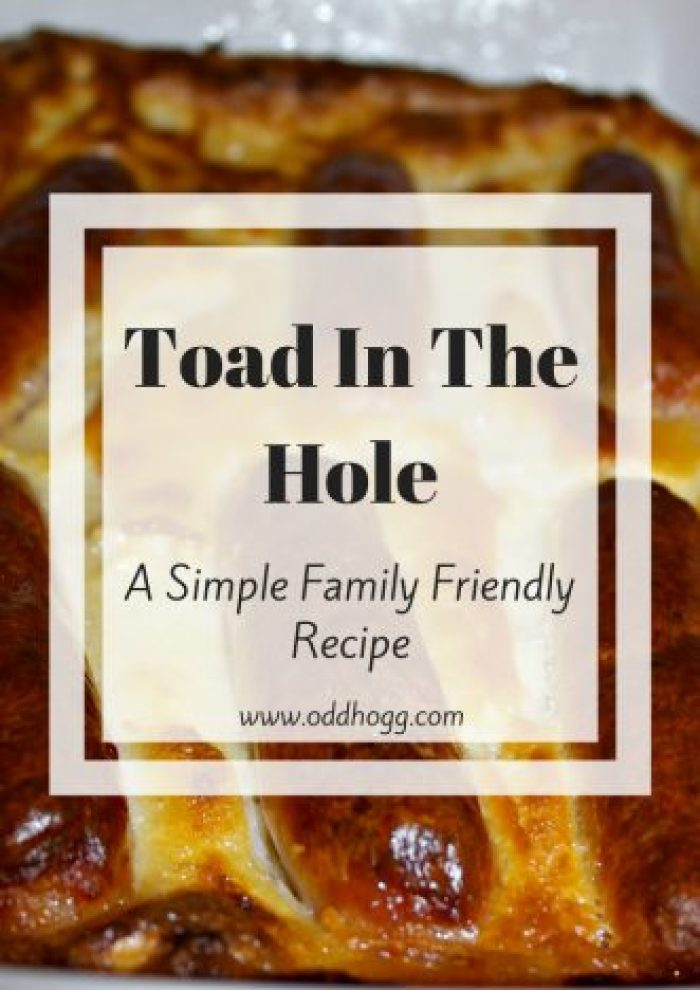 Toad In The Hole Recipe   A simple family friendly recipe. Perfect for a mid week meal - my favourite way to have sausages!