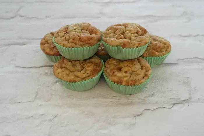 Mini Banana Bread Muffins | Cooling muffins http://oddhogg.com