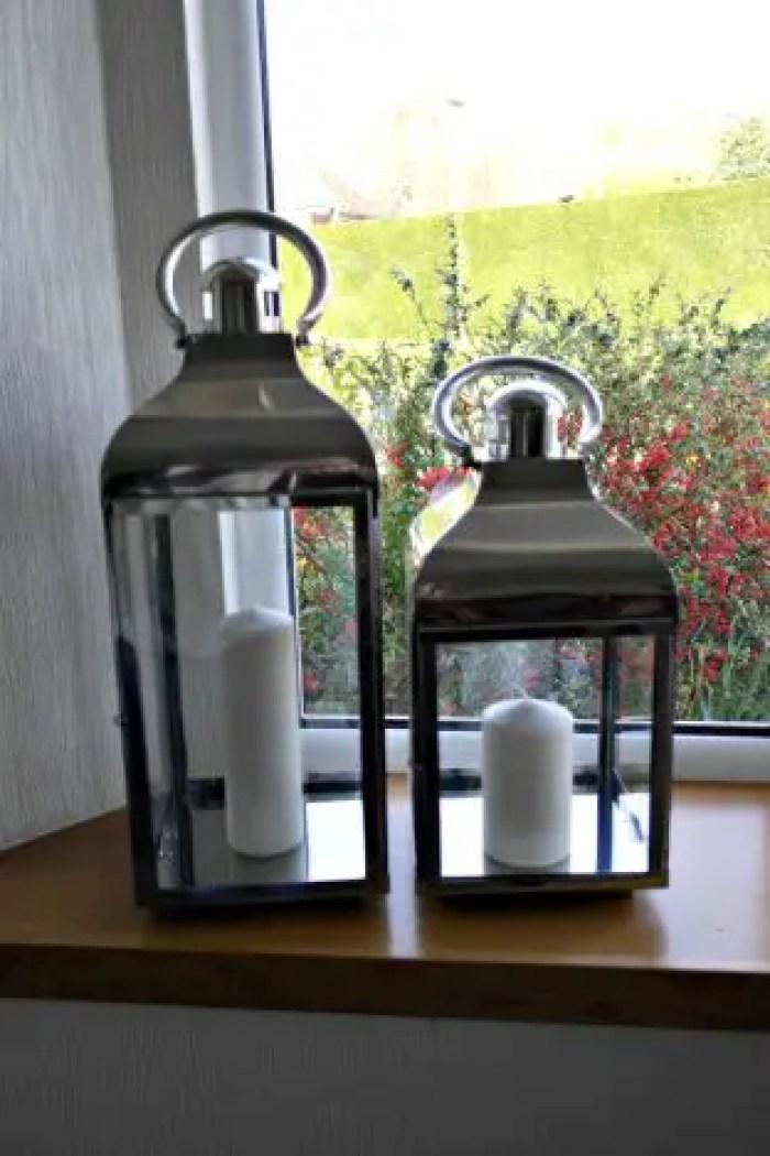 Lanterns | On the windowsill http://oddhogg.com