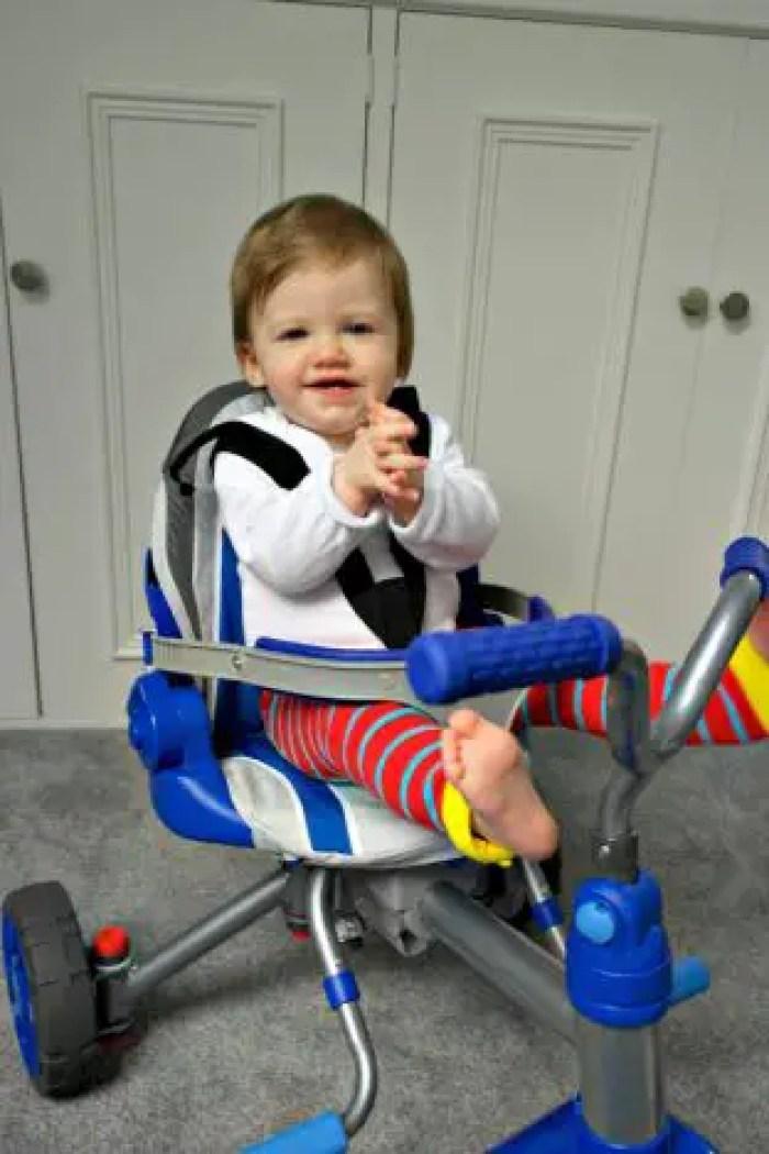 Little Tikes Fold 'n' Go 5-in-1 Trike | Built Trike http://oddhogg.com