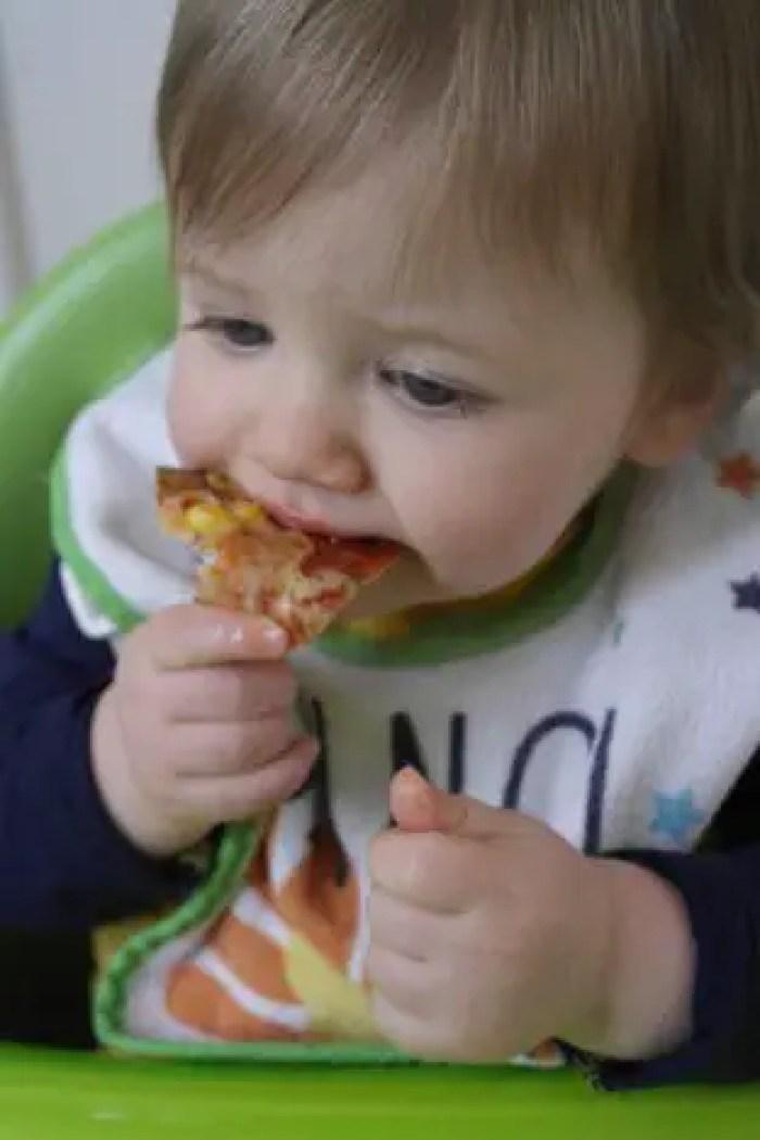 Tortilla Pozza Recipe | Piglet eating http://oddhogg.com