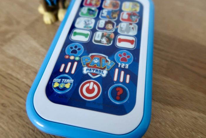 A Paw Patrol Smart Phone toy