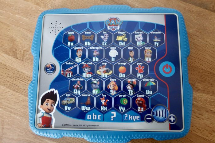 Ryder's Alphabet Tablet