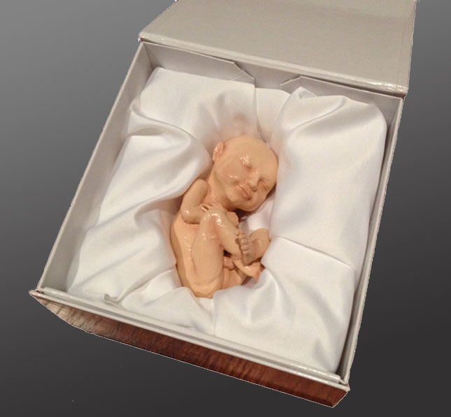 3D Printed Replica Of Your Unborn Fetus
