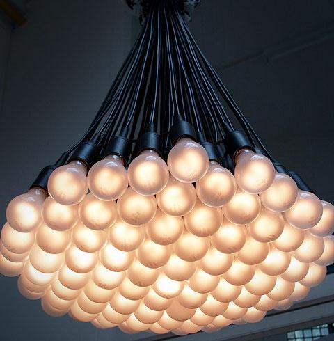 85 Light Bulb Chandelier Enlarge Image