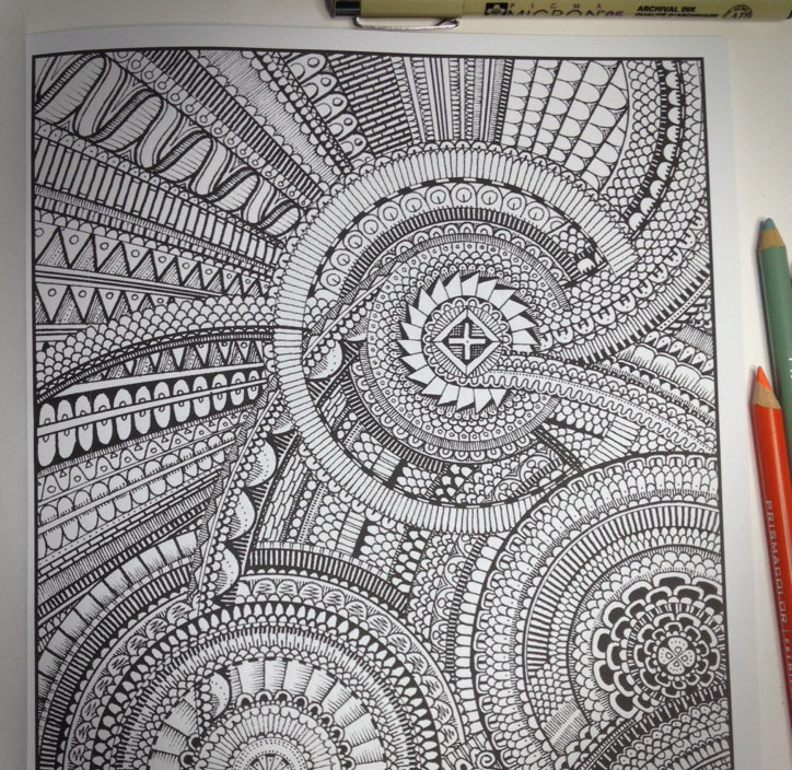 This Guy Made A Coloring Book Thats Pretty Much Impossible