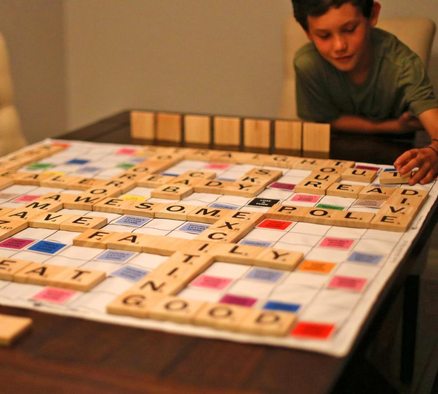 Giant Scrabble Board Game