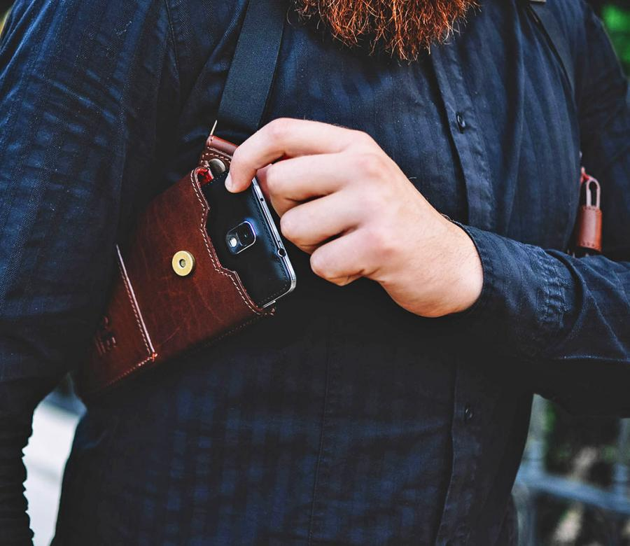 Phonster Is A Holster For Your Phone Or Wallet Similar To