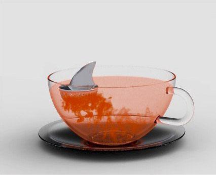 Shark Fin Tea Infuser