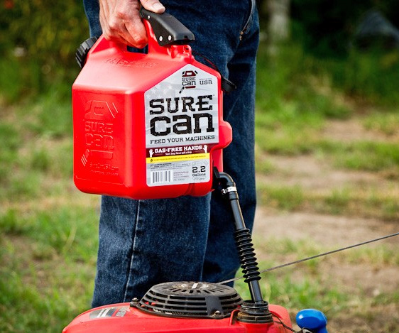 The Sure Can Is The Easiest Way To Fill Your Stuff Up With Gas